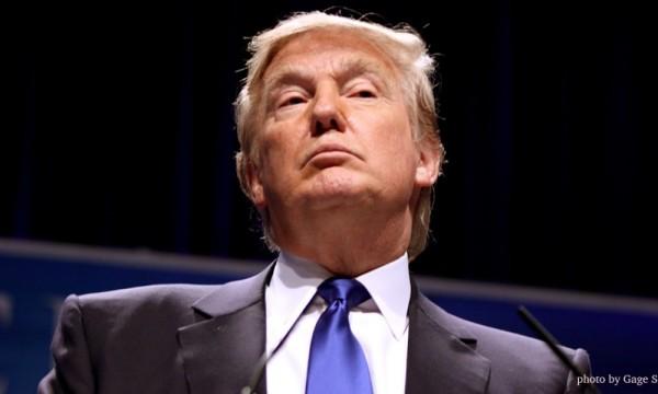 Trump - typischer Gesichtsausdruck